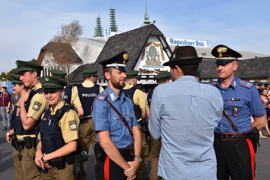 Carabinieri di Bolzano a Monaco per la sicurezza durante l ...