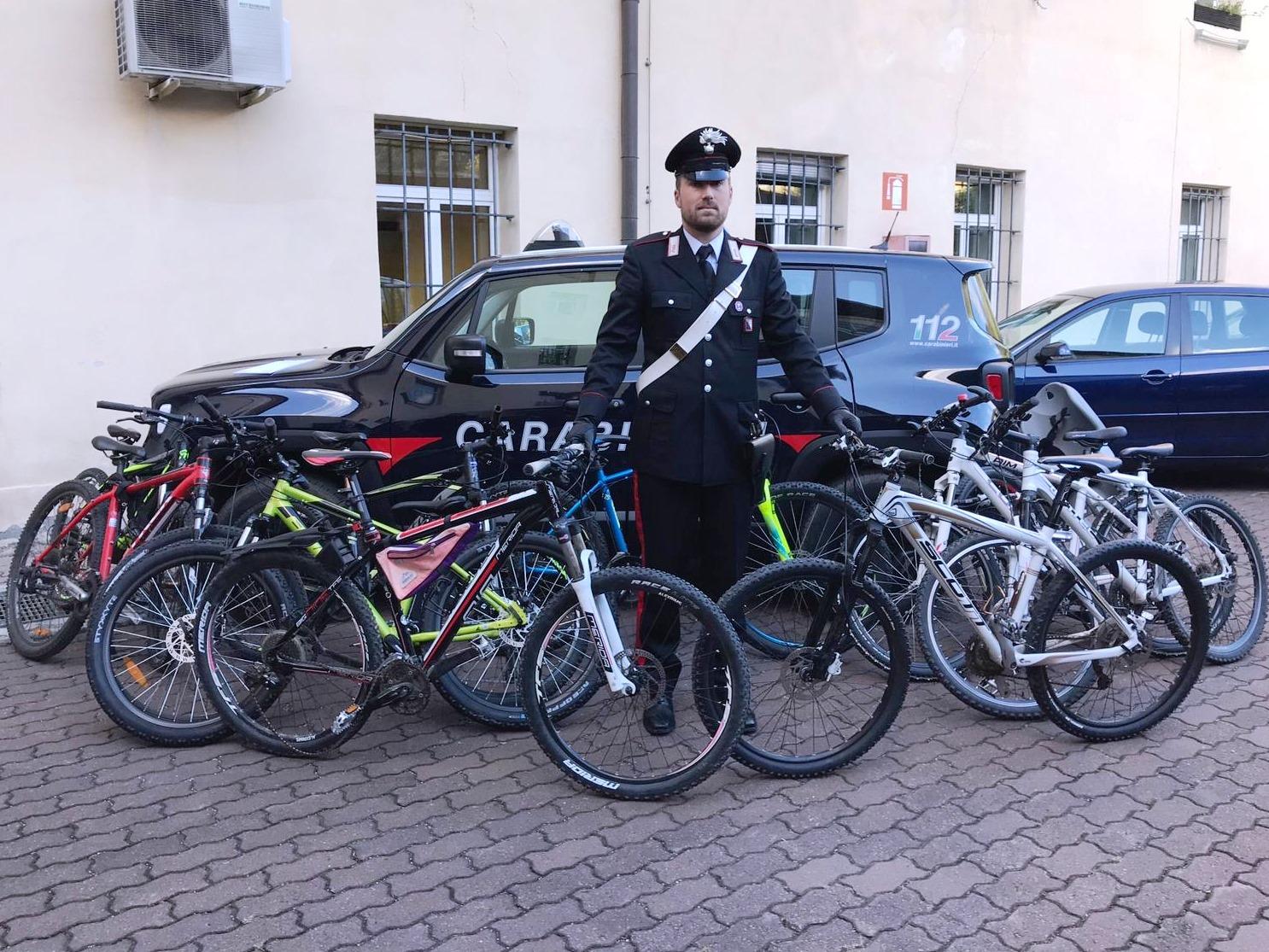 Bressanone Deposito Di Bici Rubate In Garage Denunciato Ricettatore La Voce Di Bolzano
