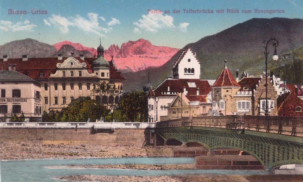 Ponte Talvera Il Simbolo Di Una Citta Moderna La Voce Di Bolzano