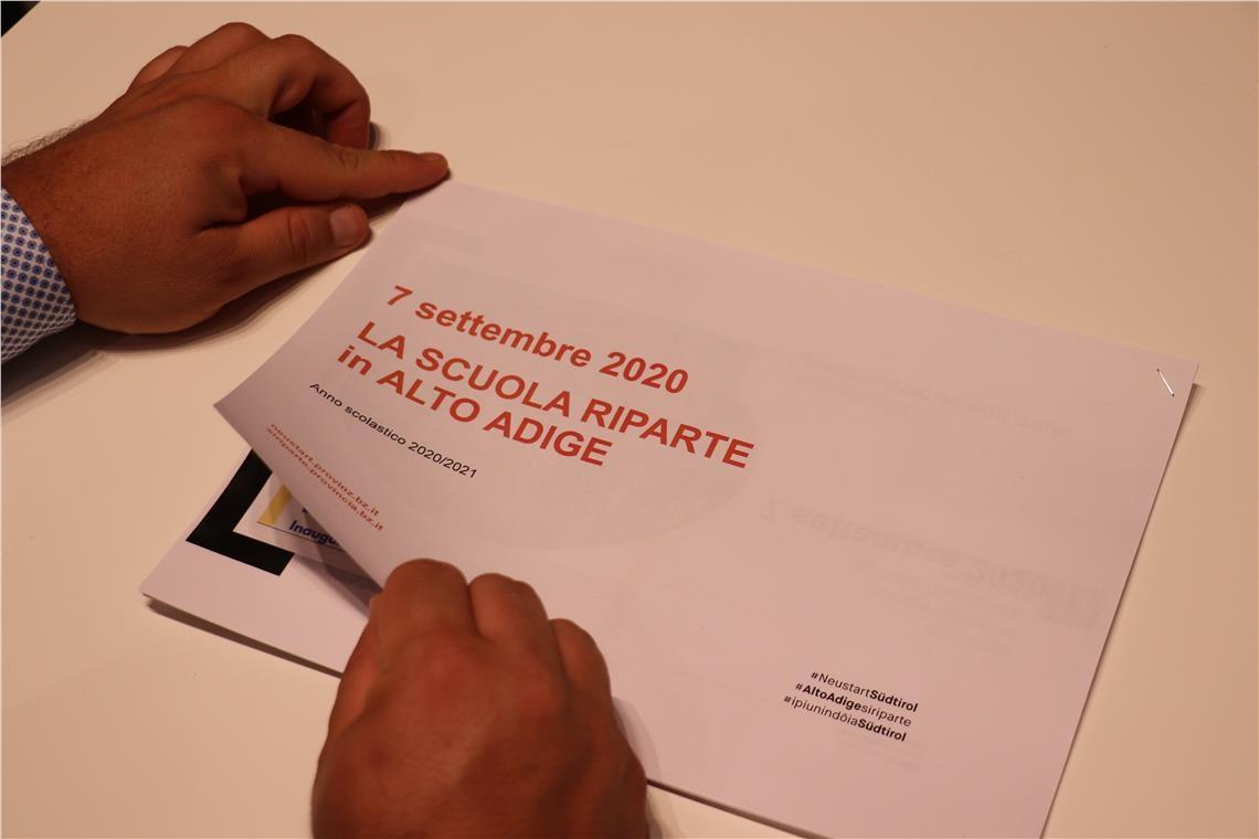 Scuola Italiana Le Misure Per Ripartire In Sicurezza La Voce Di Bolzano