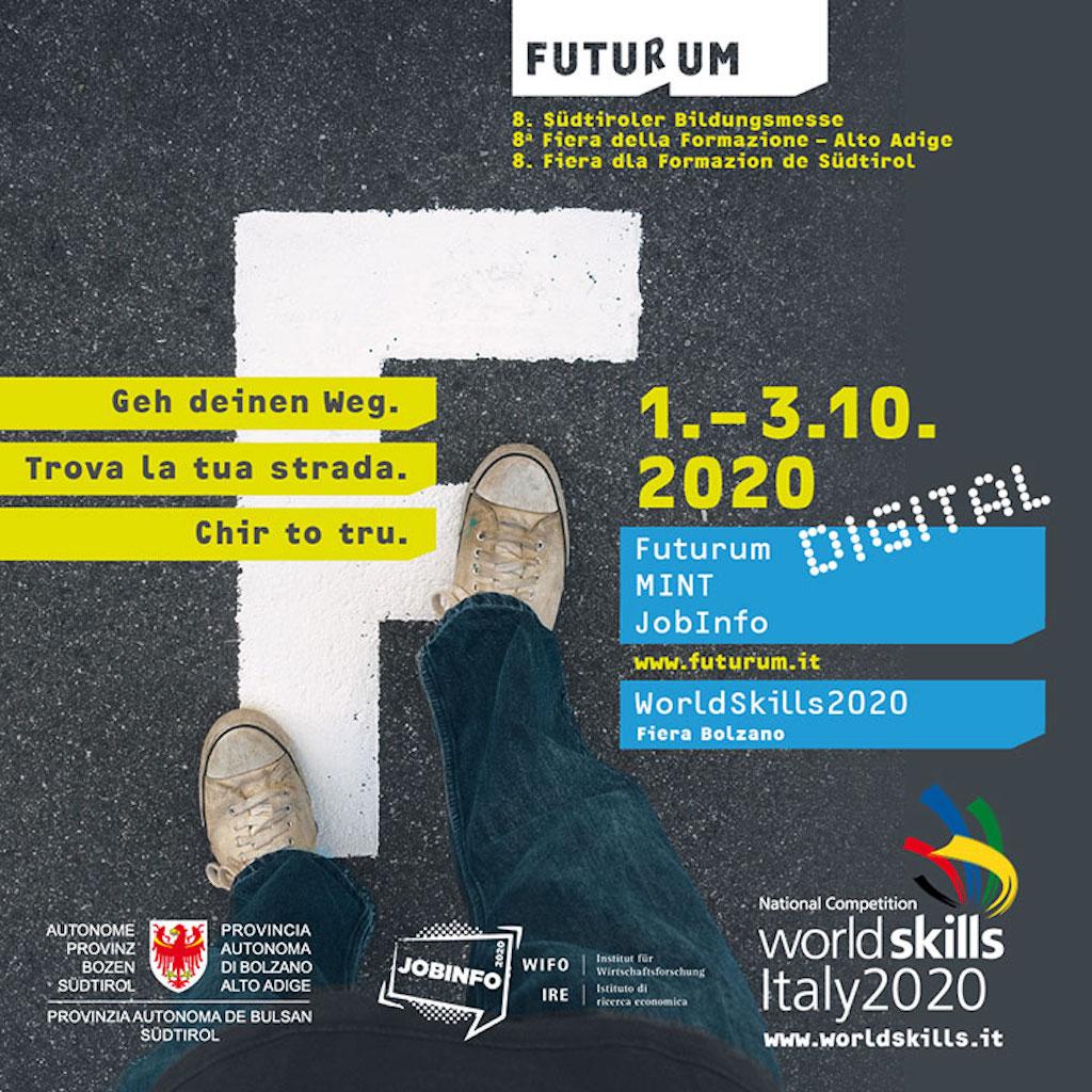 Dal 1 Al 3 Ottobre 2020 Fiera Della Formazione Futurum Edizione 2020 In Digitale La Voce Di Bolzano